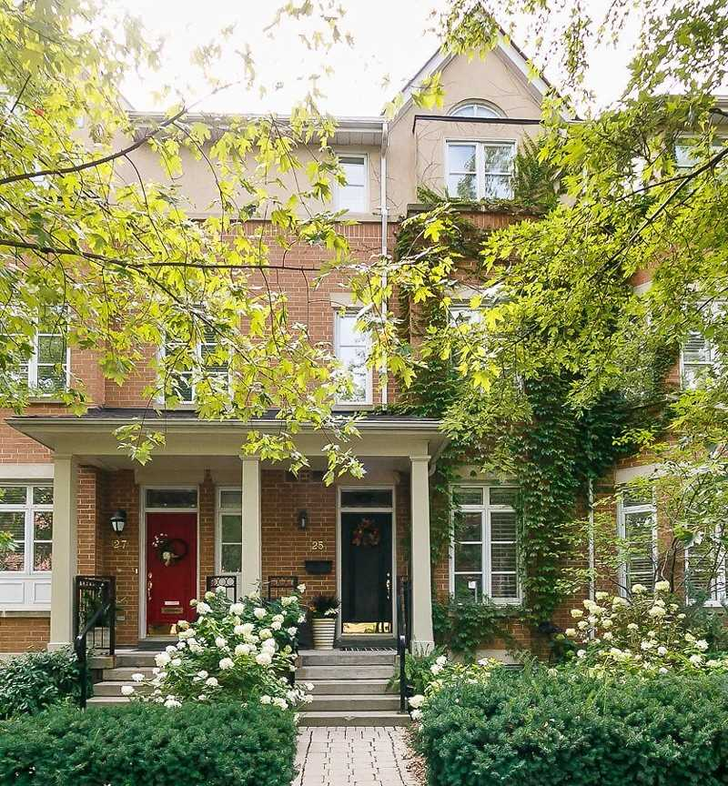 25 - 53 Shaftsbury Ave summerhill rosedale toronto townhouses prices listings floor plans