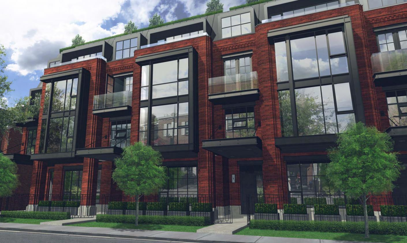 36 Birch Ave Townhouses summerhill toronto prices listings floor plans