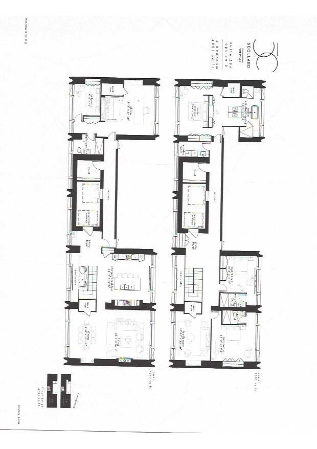 4 bedroom floor plan 50 scollard 4881 sq. ft.