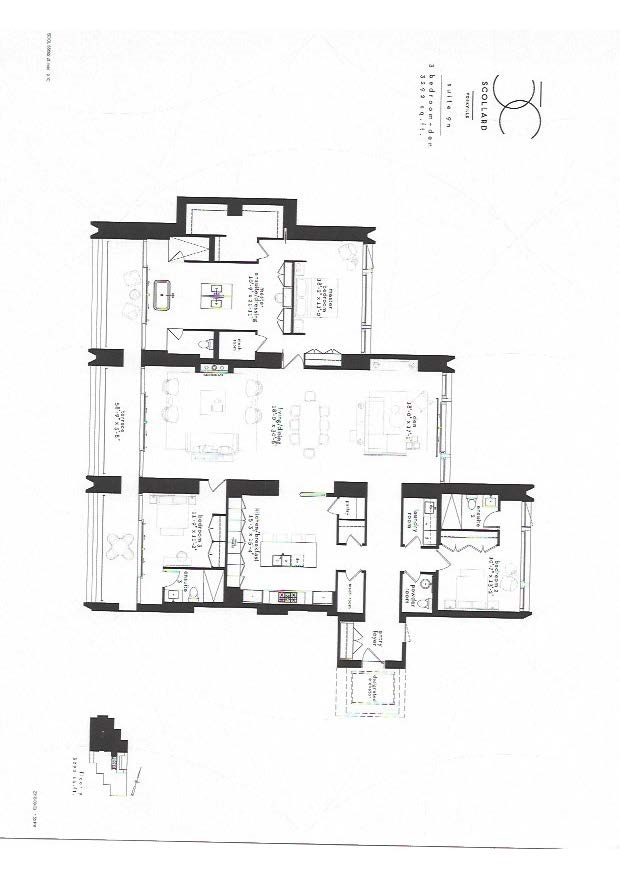 50 scollard condo 3 bedroom floor plan 3599